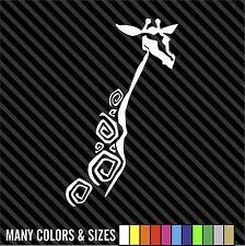 Giraffe Funny Window Die Cut Decal Sticker Vinyl Car - Many Colors & Sizes