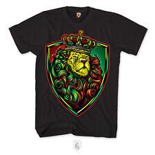 OGABEL OG Abel Crown Shield Rasta Tattoo Lion Urban Punk Mens Shirt A0412
