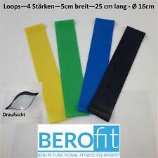 "Loops ""Berofit"" 25(50) x 5cm  Gummiband Rubberband Loop Latex Ringband 4 Stärken"