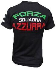 ITALIA ITALIEN Forza Squadra Azzurra Fussball WM EM T-Shirt Trikot S M L XL XXL