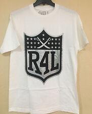 R 4 L White T-shirt By Bay Area Swag - (Raiders 4 Life) T-shirt