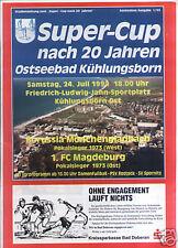 Super-Cup 1993 Mönchengladbach - 1. FC Magdeburg (A4)