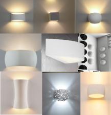 APPLIQUE IN GESSO LAMPADA A PARETE MODERNO PER LAMPADINE LED