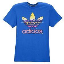 "Adidas Originals ""Hawaii Trefoil"" T-Shirt Bluebird Men's Small Large XL BNWT!"