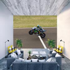 Fototapete Papier Tapete Valentino Rossi Motorrad Rennmotorrad Nr HS3403