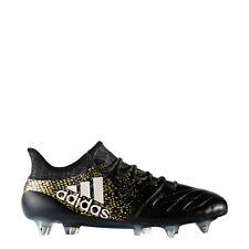 ADIDAS X16.1 BLACK leather pro football boots SG BB4190. UK 7 EU 41