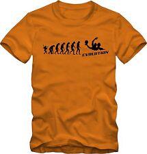Wasserball T-Shirt Evolution Waterpolo  verschiedene Farben DTG Druck