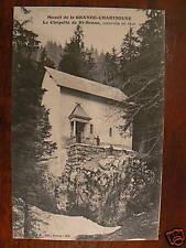 cpa 38 chapelle de st bruno massif grande charteuse