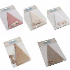 Prepara il tuo matrimonio festa di Compleanno///Baby Shower tessuto Bunting Craft Kit