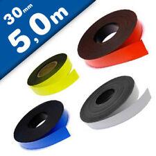 Cinta magnética de color 0,85mm x  30mm x 5m - rollo