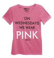 Mean Girls On Wednesdays We Wear Pink Juniors T-Shirt