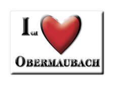 DEUTSCHLAND SOUVENIR - NORDRHEIN WESTFALEN MAGNET OBERMAUBACH (DÜREN)