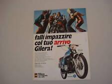 advertising Pubblicità 1973 MOTO GILERA 125 5V ARCORE
