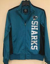 San Jose Sharks Women Track Jacket - DROP BACK Track Jacket by G-III - NHL Lic