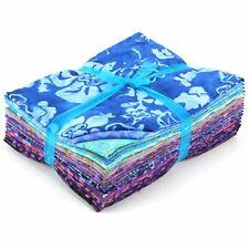 Fat Quarter Batik Print Cut Cotton Quilting tissu Assortiment Dye Craft Sewing