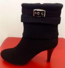 Damen Herbst/Winter Schuhe Stiefeletten Ankle  Boots Stiefel  36-41 Schwarz