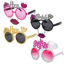 Hen Party Bachelorrette Bridal Bride To Be: Fun Novelty Joke Selfie Prop Glasses