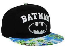 DC COMICS BATMAN FLORAL VISOR FLAT BRIM SNAPBACK HAT CAP BRAND NEW
