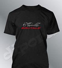 T-shirt personalizzato Brutale S M L XL XXL uomo moto MV