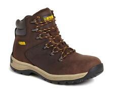 Apache AP315CM brown Waxy Waterproof S3 SRA safety Hiker boot & midsole sz 6-12
