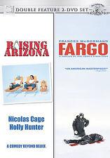 Raising Arizona/Fargo (DVD, 2007, 2-Disc Set Double Feature) Coen Bros FREE SHIP