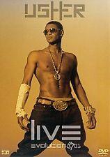 USHER LIVE EVOLUTION 8701 DVD MUSIC CONCERT ALL REGIONS 0 PAL R&B SUPERSTAR WOW!