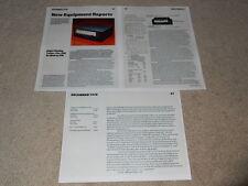 SANSUI TU-919 Super Tuner Review, 3 PG, 1979, voll testen, Spezifikationen, Info