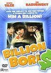 Billion for Boris DVD Seth Green 1st Movie Scott Tiler Lee Grant Michael Cullum