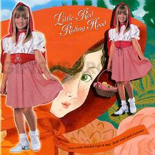 Little Red Riding Hood Child Girls Book Week Costume Fancy Dress S: Medium/Large