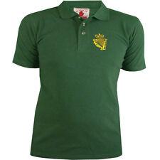 De la UDR del Ulster Regimiento de Defensa Polo Camisa Para Hombre Nuevo En Verde Militar Talla S M L Xl Xxl +