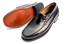 Caballero zapatillas de cuero castellanos Penny loafer Handmade Leather Shoes mocasines