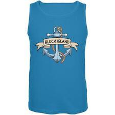 Anchor at Block Island Mens Tank Top