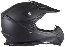 Youth Kids Motocross Helmet DOT Matte Flat Black
