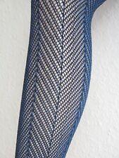 Feste Strumpfhose grafisch dicht gewebt kleines Muster  strumpfhosenartige Hose