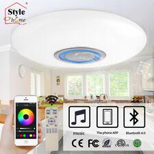 NTS® RGB LED Deckenlampe dimmbar Lautsprecher Bluetooth Fernbedienung APP