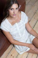 NEW Ladies 100% 'Ade'  Lemon Sorbet Cottonreal Nightdress