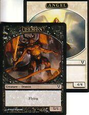 Angel/Demon token | nm | versiones preliminares promos | Magic mtg