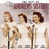 Best of the Andrews Sisters, Andrews Sisters, Very Good CD
