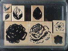 CTMH/DOTS rubber stamp set, ROSE GARDEN