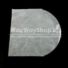 50 100 300 CD DVD Disc Case Holder Plastic Wrap Sleeves Bags inner Round Bottom