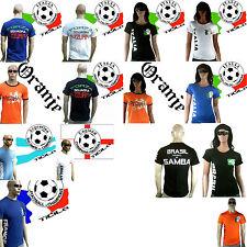 Ticila football wm em fan t-shirt maillot s/m/l/xl/xxl/3xl puplic viewing Fanshirt