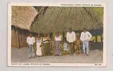 Native Hut CHAME Interior of Panama