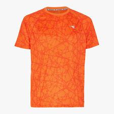 DIADORA BRIGHT SS T-SHIRT Herren Laufshirt Running Shirt Lauf T-Shirt 102.171332