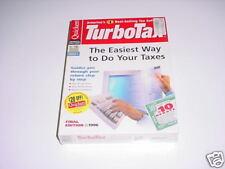 Turbotax 1996 Basic.  New retail box. Turbo tax 96.