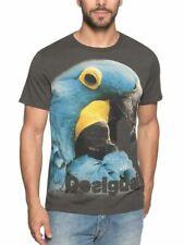 $ 59 Desigual Men`s T-Shirt PAJAREO BIS REP Size S M L NEW