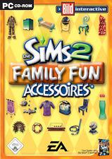Los Sims 2: family fun-accesorios (PC, 2006, DVD-box)