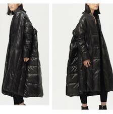 Women Long Duck Down Jacket Oversize Loose Cloak Coat Outwear Puffer Warm Winter
