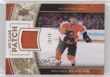 2013-14 Upper Deck Series One UD Game Patch #GJ-SC Brayden Schenn Hockey Card