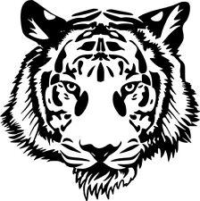 "Tiger Head Wild Animal Art Graphic Car Truck Wall Window Vinyl Sticker Decal 6"""