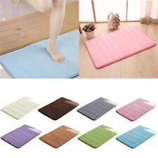 Memory Foam Mat Anti-Slip Water Up Pad Bathroom Shower Rug Carpet Non Slip Back
